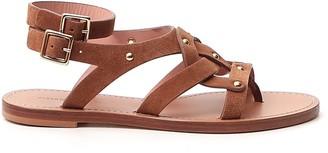 Alberta Ferretti Flat Sandals