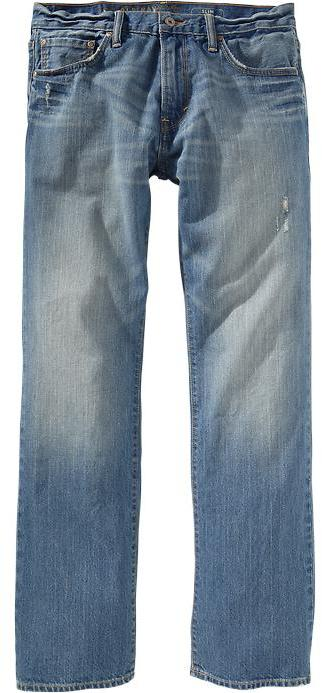 Old Navy Men's Premium Slim Boot-Cut Jeans