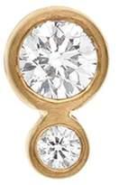 Sophie Bille Brahe 'Lulu Grand' diamond 18k yellow gold single earring