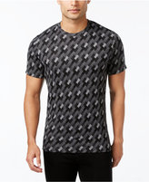 Alfani Men's Jacquard Geometric T-Shirt, Only at Macy's