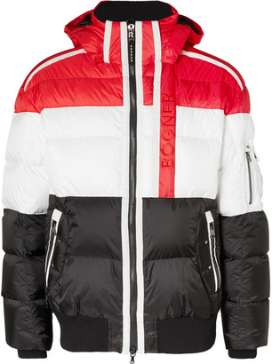 Bogner Slim-Fit Arik-D Hooded Quilted Shell Down Ski Jacket