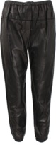 3.1 Phillip Lim Elastic Leather Sweatpants