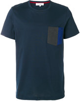 Salvatore Ferragamo contrast pocket T-shirt