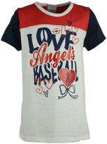 5th & Ocean Girls' Los Angeles Angels of Anaheim Love Baseball T-Shirt