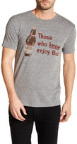 Lucky Brand Bud Beer Label Tee