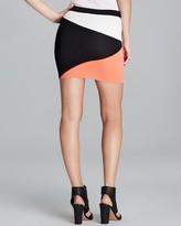 Torn by Ronny Kobo Skirt - Mali Color Block