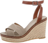 Castaner Canvas Wedge Sandals