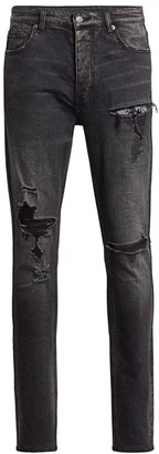 Ksubi Chitch Rat Angst Distressed Skinny Jeans