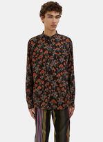 James Long Men's Poppy Long Sleeved Shirt In Black