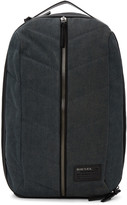 Diesel Black and Indigo D-v-denim Backpack