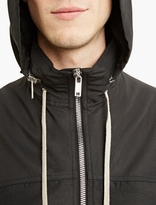 Rick Owens Black Windbreaker Jacket