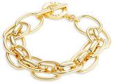 Lauren Ralph Lauren Double Chainlink Toggle Bracelet