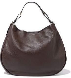 Giorgio Armani Textured-Leather Shoulder Bag