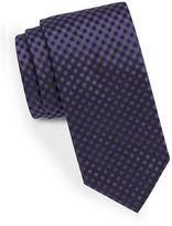 HUGO Narrow Gingham Tie