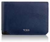Tumi Men's 'Mason' Bifold Leather Wallet - Blue