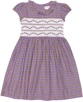 Rachel Riley Checked cotton dress
