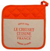 Le Creuset Heritage Linen Pot Holder in Flame