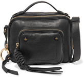 See by Chloe Patti Textured-leather Shoulder Bag - Black