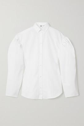 Totême Zonza Cotton-poplin Shirt - White