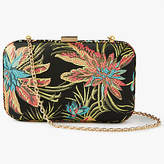 John Lewis Stella Tropical Print Clutch Bag, Multi