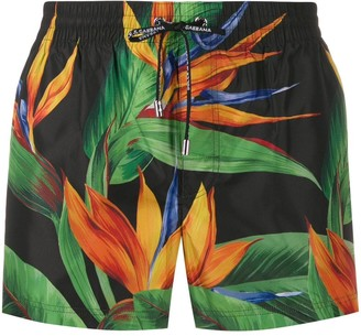Dolce & Gabbana jungle print swim shorts