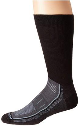 Wrightsock Endurance Crew (Black/Ash) Crew Cut Socks Shoes