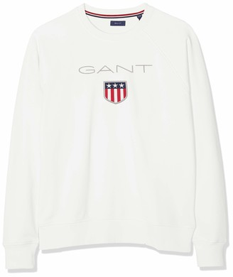 Gant Boys' D1. Shield Logo Sweat C-Neck Sweatshirt
