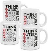 "Konitz Think Outside the Box"" Mugs (Set of 4)"