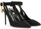 Tom Ford Embellished Suede Sandals
