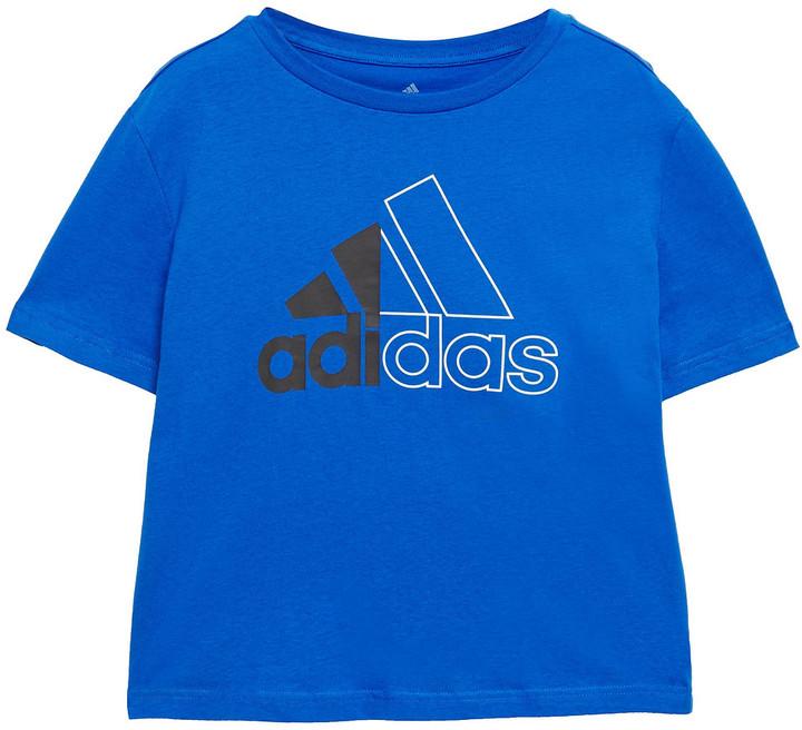 adidas Printed Cotton-jersey T-shirt