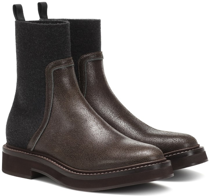 4bf8db29209dc Brunello Cucinelli Women's Boots - ShopStyle