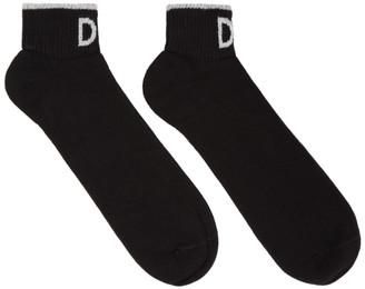 Dolce & Gabbana Black Jacquard Socks