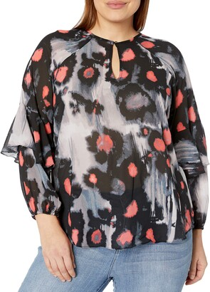 Rachel Roy Women's Plus Size Blouse