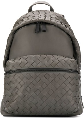 Bottega Veneta Intrecciato Weave Backpack