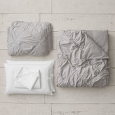 Thumbnail for your product : Pottery Barn Teen Organic Ruched Diamond Duvet Bundle Set