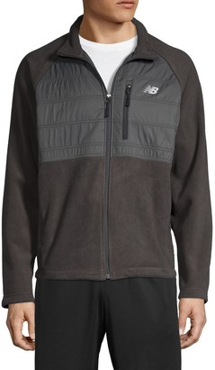 New Balance Logo Front-Zip Jacket