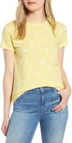 Lucky Brand Essential Floral Print Crewneck T-Shirt