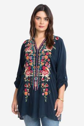 Johnny Was Annette Tunic-Plus Size