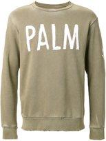 Palm Angels palm print sweatshirt