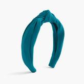 J.Crew Grosgrain topknot headband