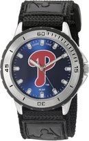 Game Time Men's MLB-VET-PHI Veteran Custom Philadelphia Phillies Veteran Series Watch