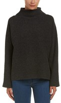 Vince Cropped Wool & Cashmere-blend Sweater.