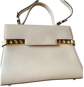 Delvaux TempAte Ecru Leather Handbags