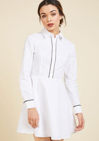 ModCloth Promising Polish Shirt Dress in S