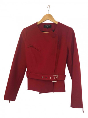 Paule Ka Red Wool Jackets
