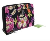 Vera Bradley Vera Braldey Turnlock Wallet Clutch Handbag in