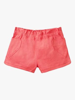 Boden Girls' Heart Pocket Shorts