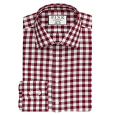 Thomas Pink Plato Check Slim Fit Button Cuff Shirt