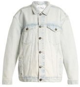 Raey Long-line Western denim jacket