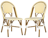 Safavieh Salcha Stacking Side Chairs (Set of 2)